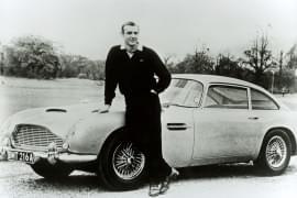 DB5 cu actorul Sean Connery în James Bond