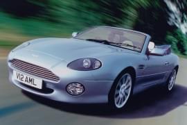 Aston Martin DB7 din față