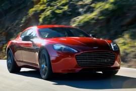 Aston Martin Rapide S din față