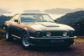 Aston Martin V8 Vantage din față