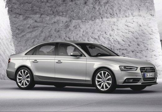 Audi A4 Avant argintiu