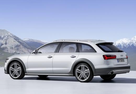 Audi A6 Allroad Quattro argintiu