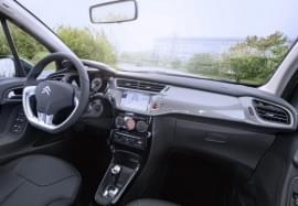 Citroën C3 privit din spate