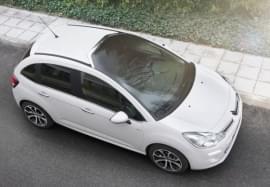 Citroën C3 privit de sus