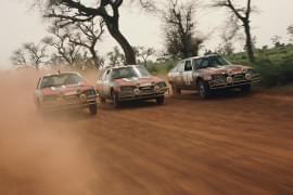 Citroën CX la raliul din Senegal