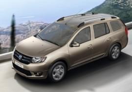 Dacia Logan privită de sus