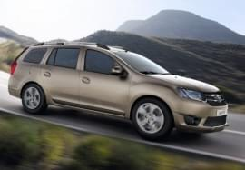 Dacia Logan privită din lateral
