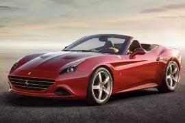 Ferrari California T privit din faţă