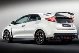 Honda Civic Type R din spate
