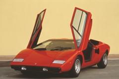 Lamborghini Countach von vorn
