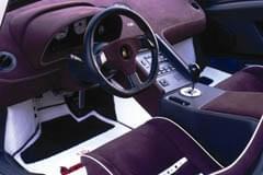 Lamborghini Diablo din interior