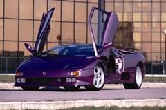 Lamborghini Diablo din lateral