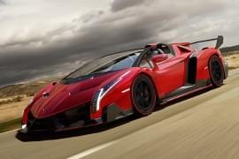 Lamborghini Veneno von der Seite