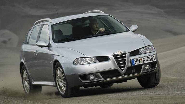 Alfa Romeo 156 vedere din fata