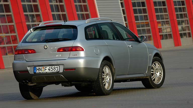 Alfa Romeo 156 vedere din spate
