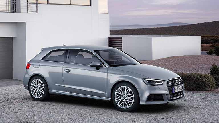 Audi A3 vedere din fata