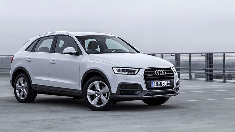 Audi Q3 vedere din fata