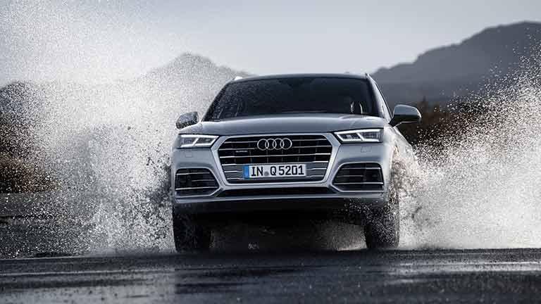 Audi Q5 vedere din fata