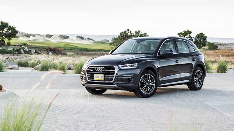 Audi Q5 vedere din lateral