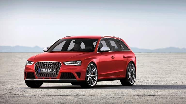 Audi RS4 Avant vedere din fata