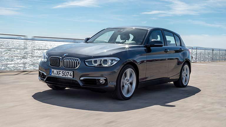 BMW seria 1 din fata