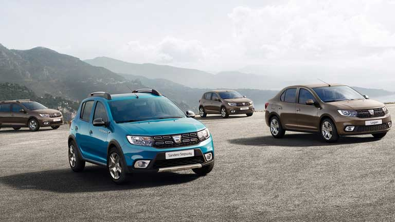 Dacia Stepway crossover si sedan