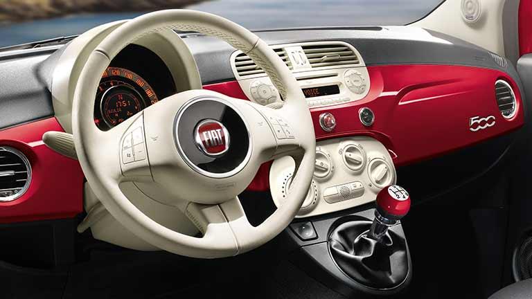 bord Fiat 500