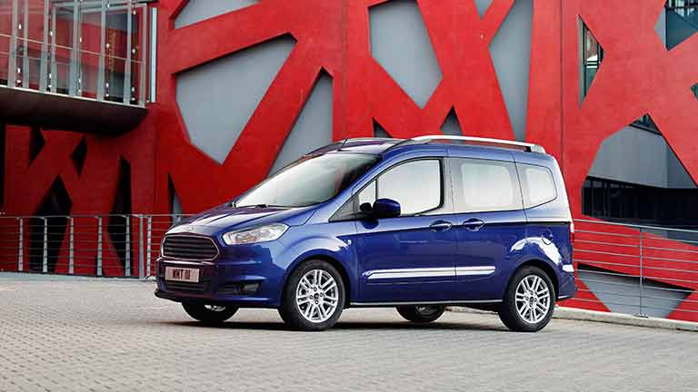 Ford Courier vedere din lateral