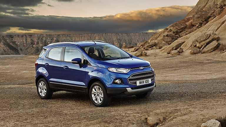 Ford EcoSport vedere din fata