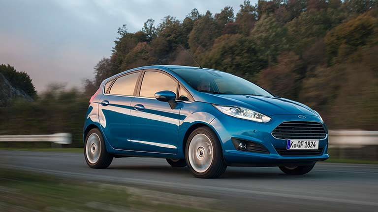Ford Fiesta vedere din lateral