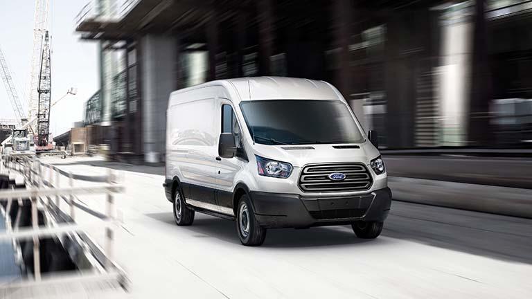 Ford Transit din fata