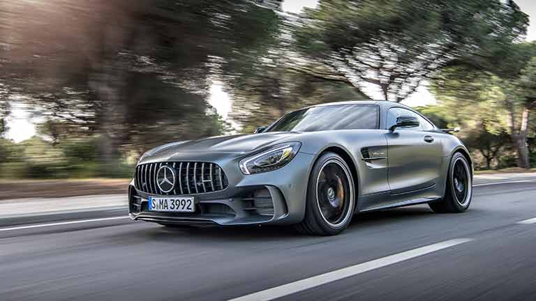 Mercedes AMG GT din lateral