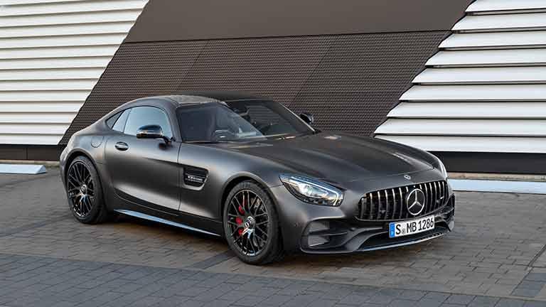 Mercedes AMG GT din fata
