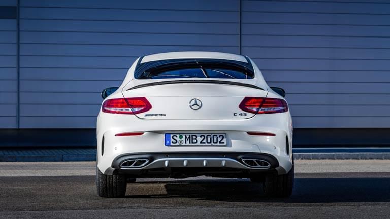 Mercedes Benz C Class vedere din spate