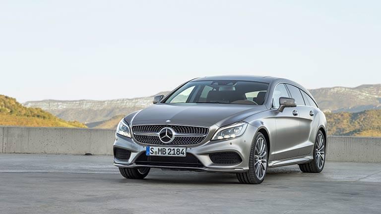 Mercedes CLS vedere din fata