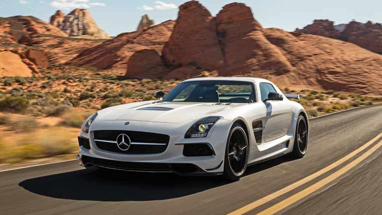 Mercedes SLS vedere din fata