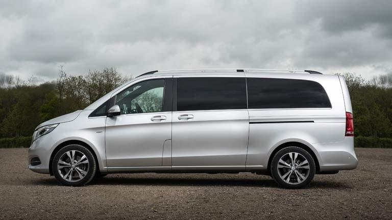 Mercedes V Class vedere din lateral