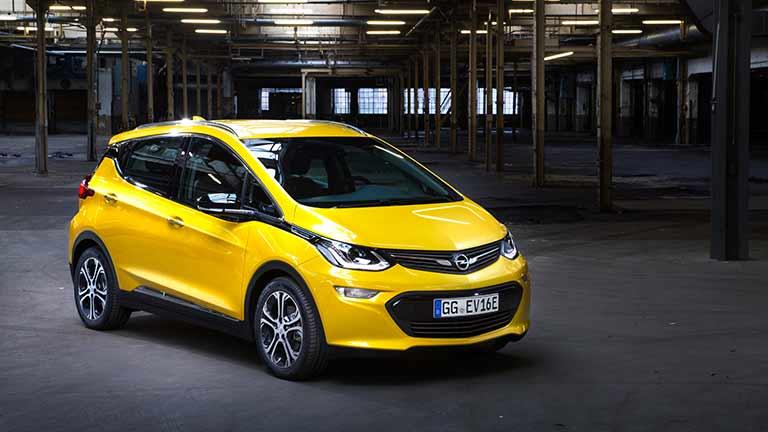 Opel Ampera vedere din fata