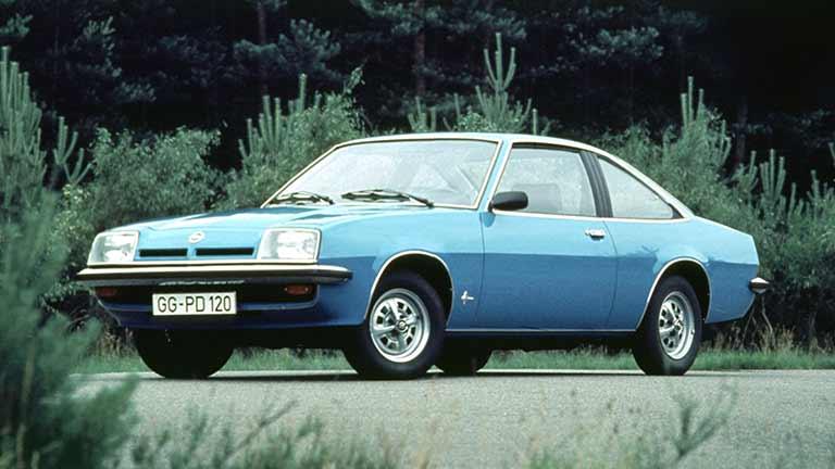 Opel Manta vedere din exterior