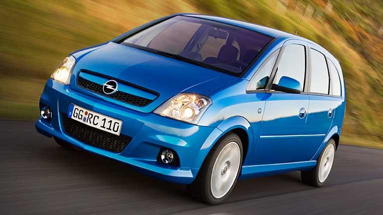 Opel Meriva albastru