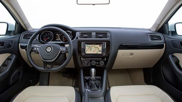 interiorul Volkswagen Jetta