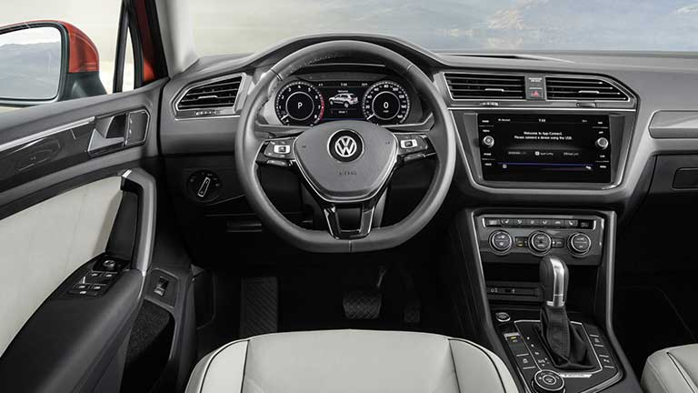 Volkswagen Tiguan vedere bord
