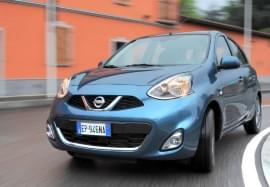 Nissan Micra din față