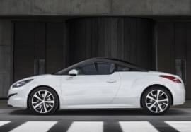 Peugeot RCZ pe pagină