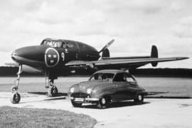 Saab 92 şi Saab J21