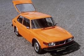 Saab 99 – de deasupra