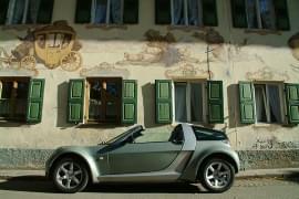 Smart Roadster privit din lateral