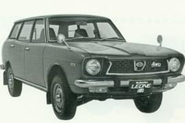 Subaru Leone 1400 Station Wagon AWD