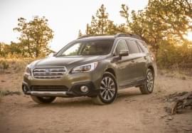 Subaru Outback vedere din față