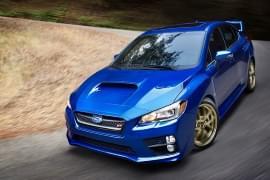Subaru WRX STI vedere din față